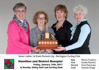 Senior 1st Event Runners Up