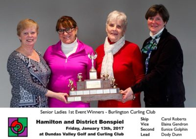 Senior 1st Event Winners