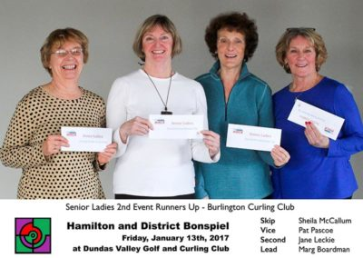Senior 2nd Event Runners Up