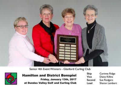 Senior 4th Event Winners