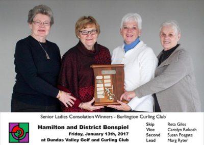 Senior Consolation Winners