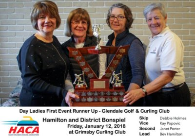 Day Ladies 1st Event Runners Up