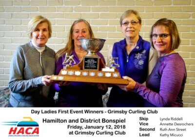 Day Ladies 1st Event Winner Curling