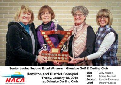 Senior Ladies Second Event Winner