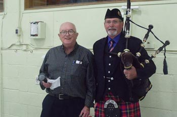Hamilton Curling Bag Pipes
