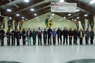 Group Curling Photo