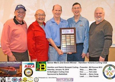 Seniors_2019-2nd-Event-Winner-Team Oda, Victoria Curling Club