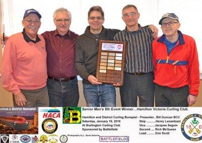 Seniors_2019-5th-Event-Winner-Team Lenarduzzi, Victoria Curling Club