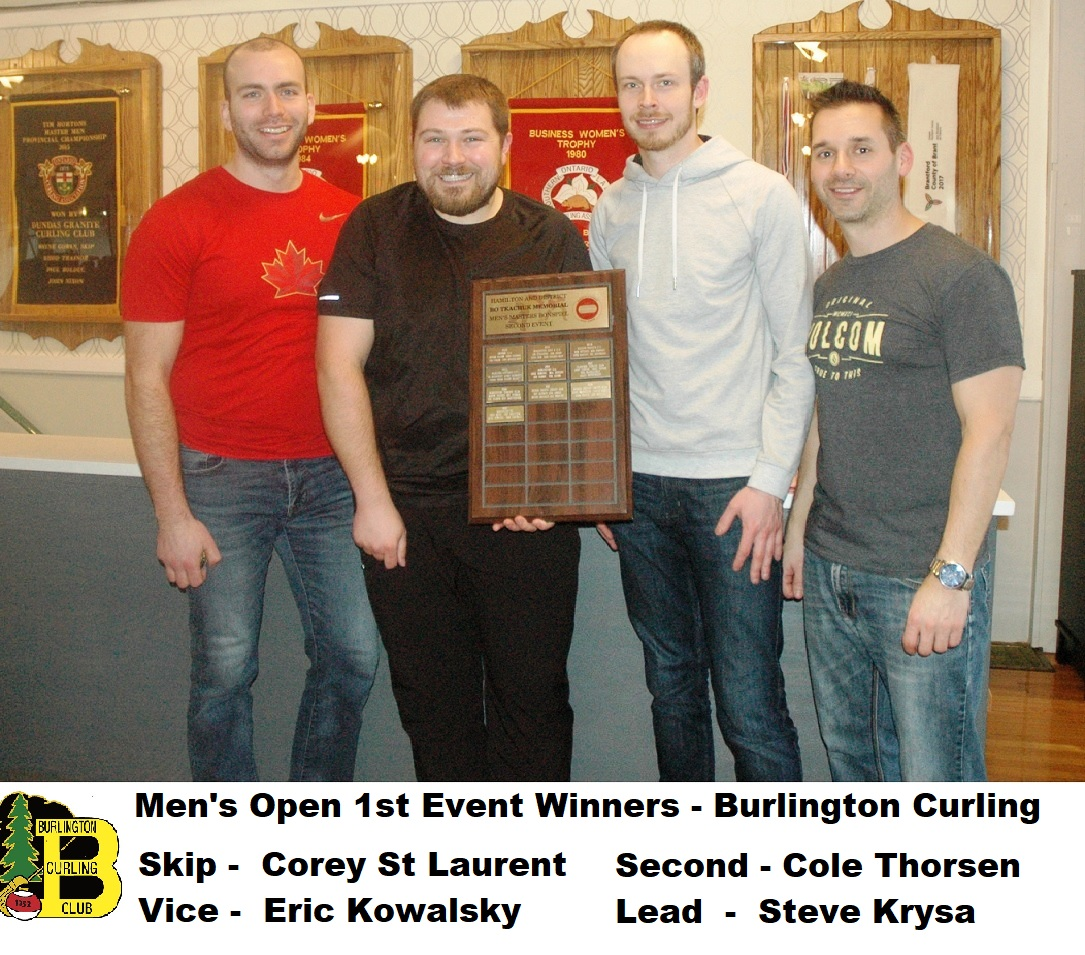 Mens open curling winners